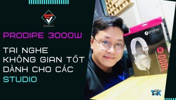 Review & Mở Hộp I HEADPHONE PRODIPE 3000W I Studio Gear