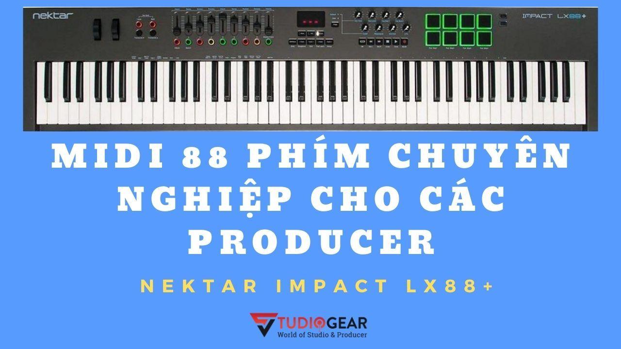 Nektar Impact LX88+ [Keyboard Controller]