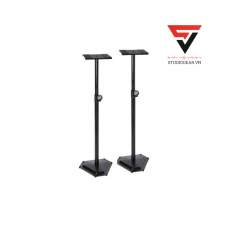 ON-STAGE SMS6600-P HEX-BASE MONITOR STAND (PAIR)