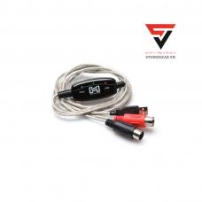 HOSA TRACKLINK USB INTERFACE MIDI I/O TO USB TYPE A