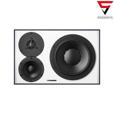 Dynaudio LYD 48 3-way Near-Midfield Monitor (Left Side)-Black & White