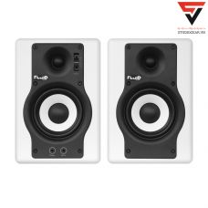 Fluid Audio F4 Active Studio Monitors (Pair)-White